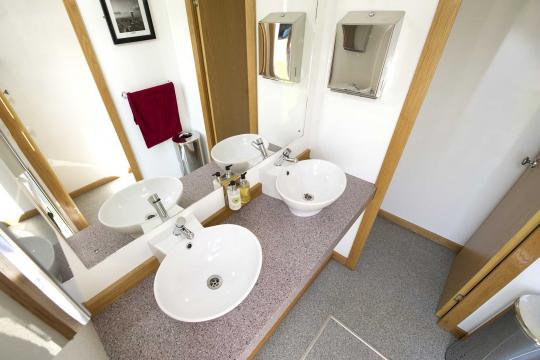 The Rose Luxury Toilets For up to 350 guests