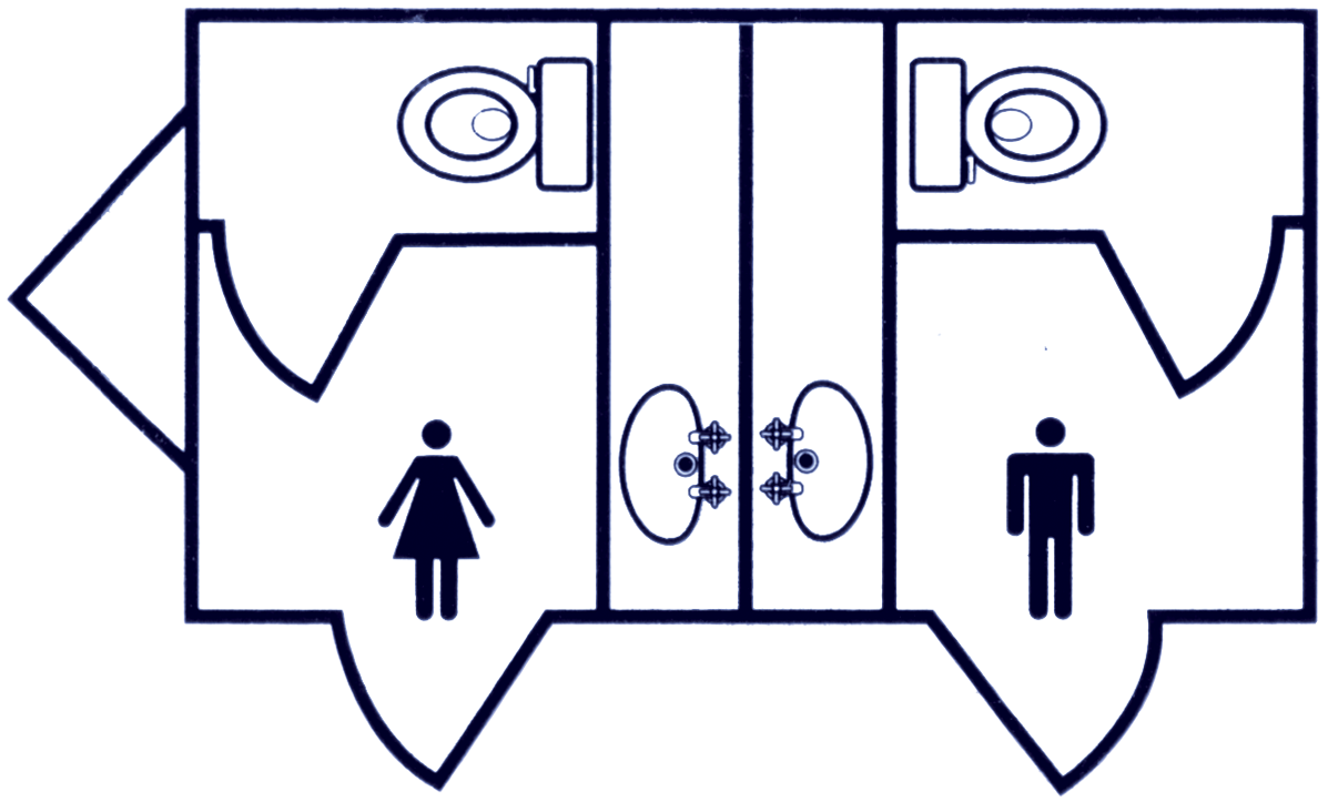The Daily Luxury Toilets for hire - floorplan