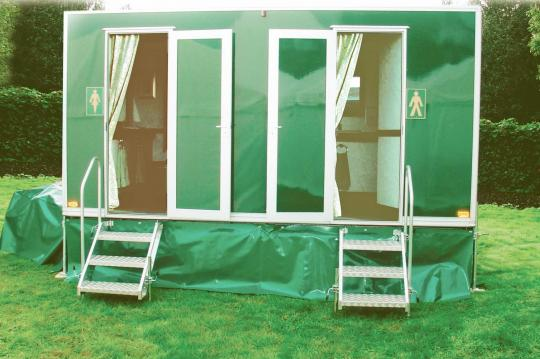 The Daisy Toilet Hire unit for hire in East Anglia